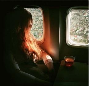 woman-in-plane